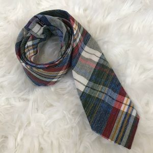 {Alexander Olch} 100% English Cotton Plaid Tie